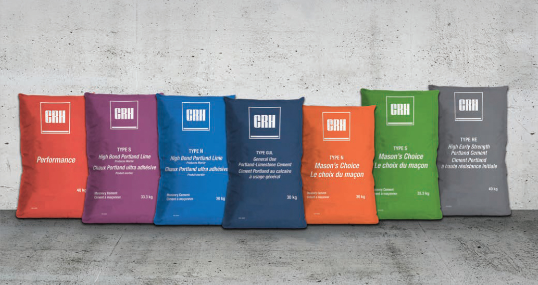 CRH cement bags